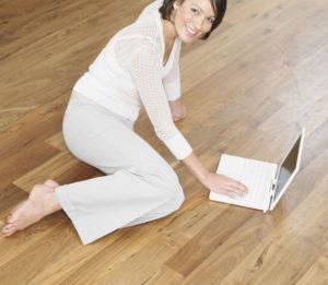 Sablage de plancher sans poussière